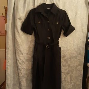 Black shirt dress size small